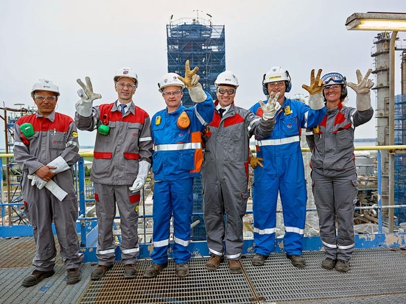 Raffinerie TOTAL de Donges