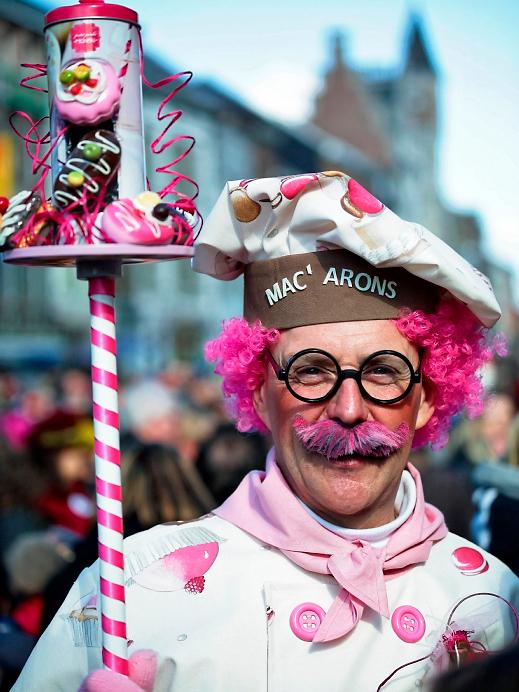 Carnaval Binche en Belgique