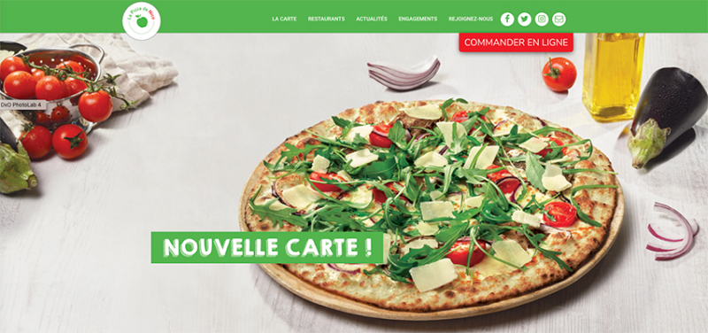 La-Pizza-de-nico, nouvelle carte